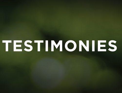 God Won't Let You Down – Bud's Testimony